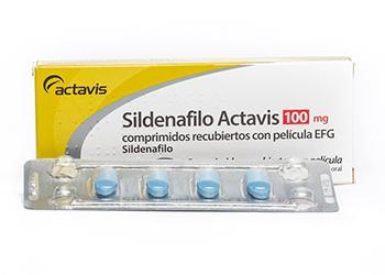 Actavis Sildenafil 100mg