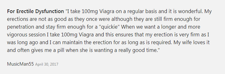 Viagra can Improve a Man's Sexual Performance for their Significant Other