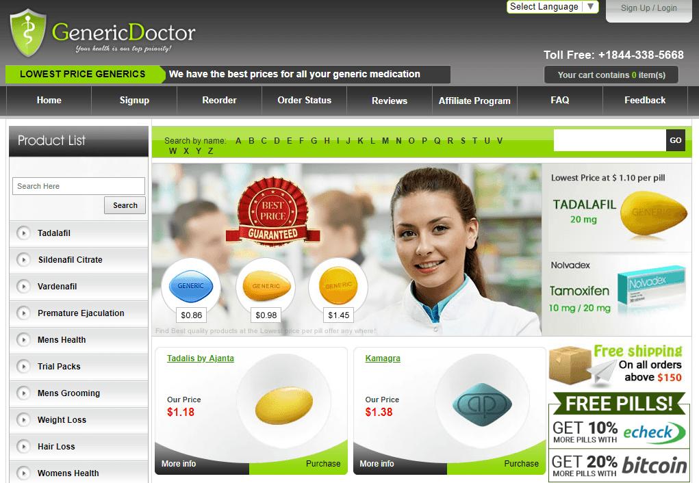Generic Doctor Reviews