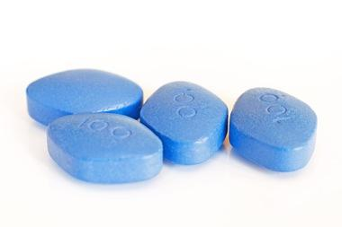 Blue pill Viagra