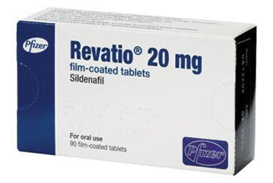 Revatio 20mg (Sildenafil)