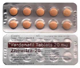 Vardenafil 20mg Generic