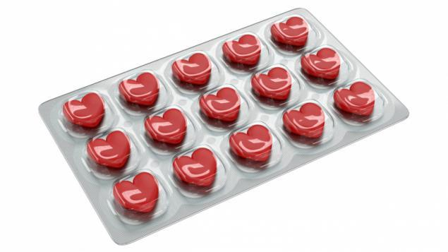 Red viagra pills
