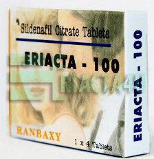 Eriacta 100 Ranbaxy Package