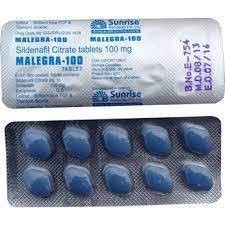Malegra – Generic Sildenafil 100mg